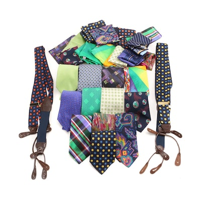 Façonnable, Brioni, Turnbull & Asser with Other Neckties and Accessories