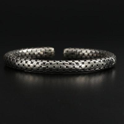 John Hardy Sterling Silver Dot Cuff Bracelet