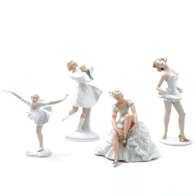 Schaubach Kunst German Porcelain Dancers, 20th Century