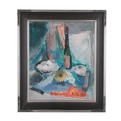 Edgar Batzell Still Life Oil Painting