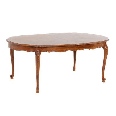 Romweber Louis XV Style Oak Dining Table