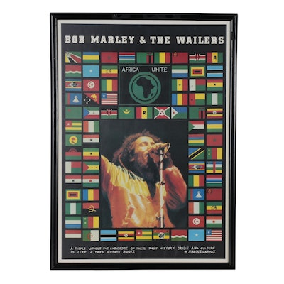 "Bob Marley and the Wailers ""Africa Unite"" Poster"