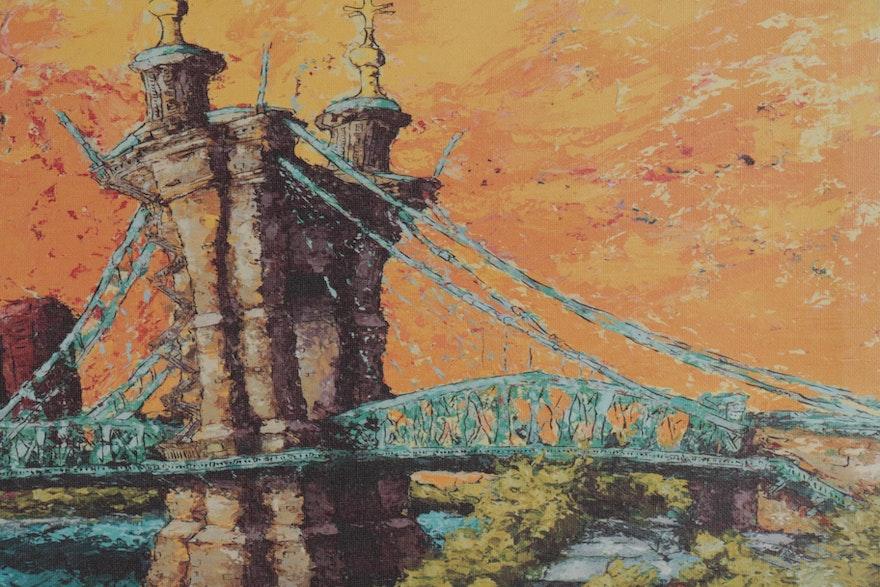 """Mike Maydak Giclee Print """"Roebling"""""""