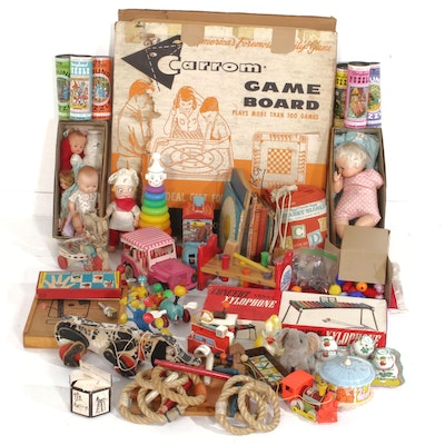 Toys, Games, Dolls, and Children's Books, 1920s-1970s