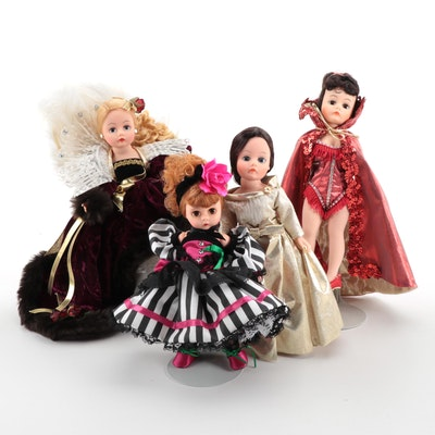 "Madame Alexander Vinyl Doll Figures Including ""Guardian Angel of Hope"""