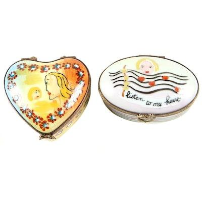 La Gloriette Hand-Painted Porcelain Limoges Boxes