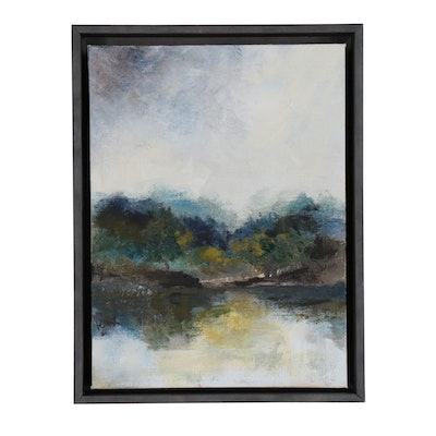 Kym Kuenning Abstract Landscape Oil Painting
