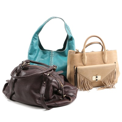 Diane von Furstenberg, Cole Haan and MICHAEL Michael Kors Leather Handbags