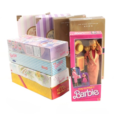 Avon Exclusive Barbie Dolls and More, 1990s