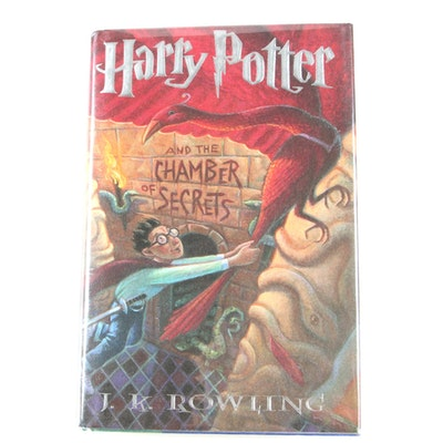 """First American Edition, First State """"Harry Potter and the Chamber of Secrets"""""""