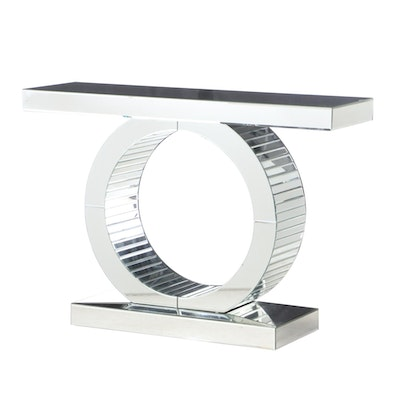 Mirrored Sofa or Console Table, Contemporary