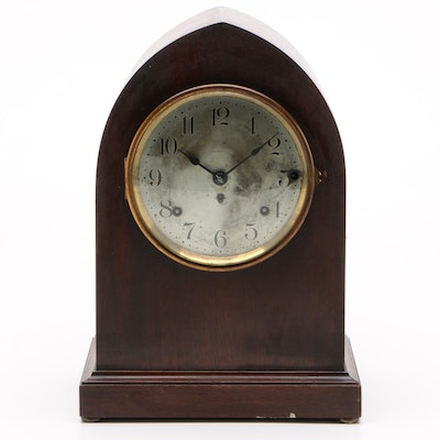Seth Thomas Sonora Chime Mahogany Beehive Clock With Musical Chime, Vintage