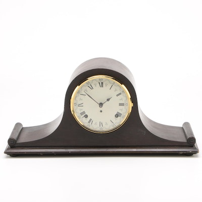 Seth Thomas Walnut Tambour Clock, Vintage