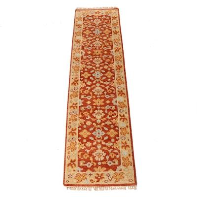 2'1 x 8'2 Hand-Knotted Indo-Persian Heriz Serapi Runner