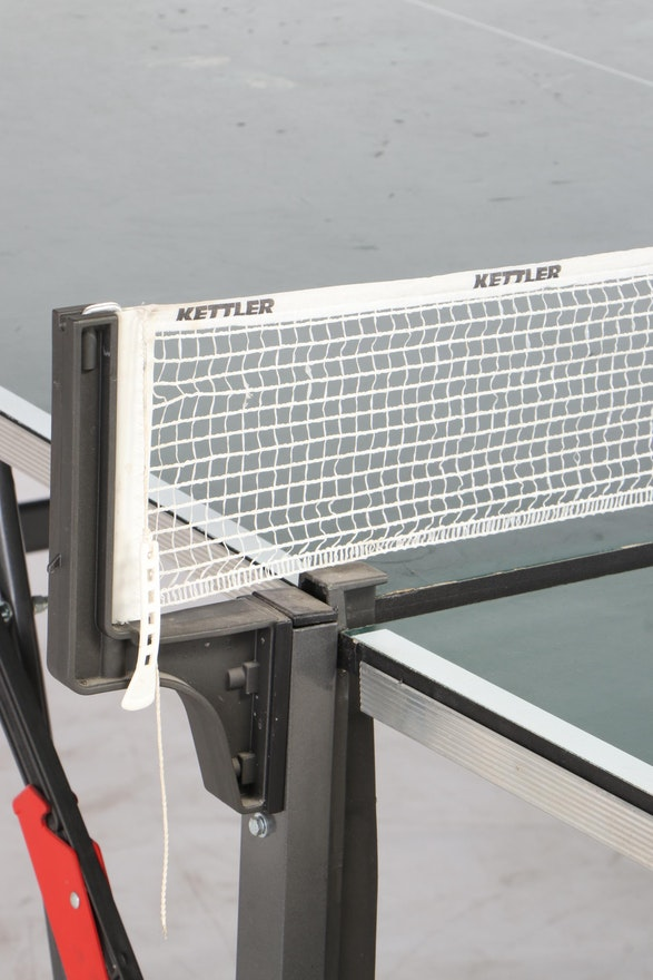 Kettler Folding Ping Pong Table On Wheels Late 20th