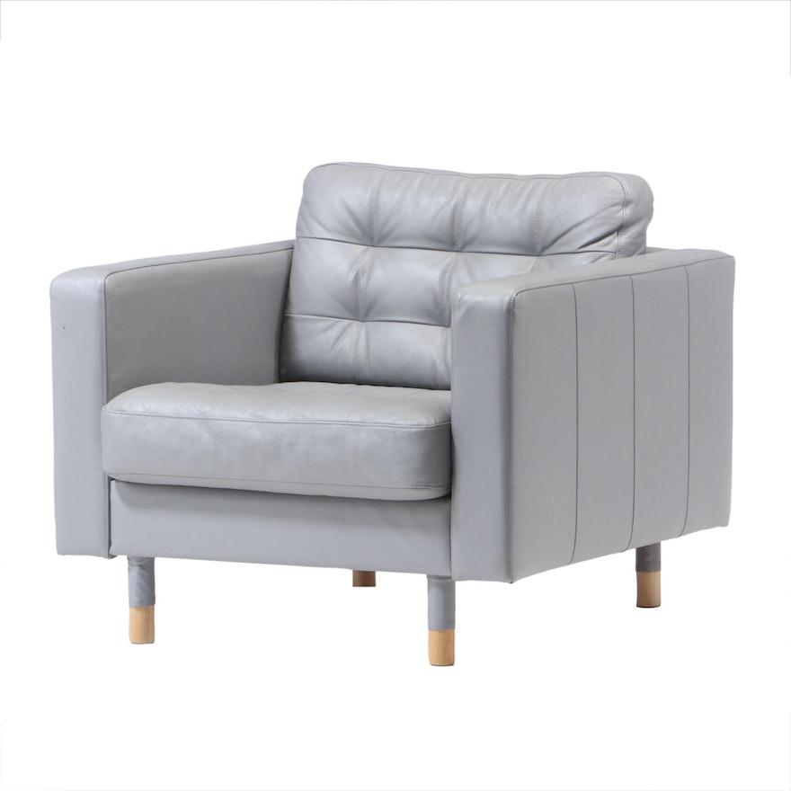 "IKEA ""Landskrona"" Lounge Chair, 21st Century"