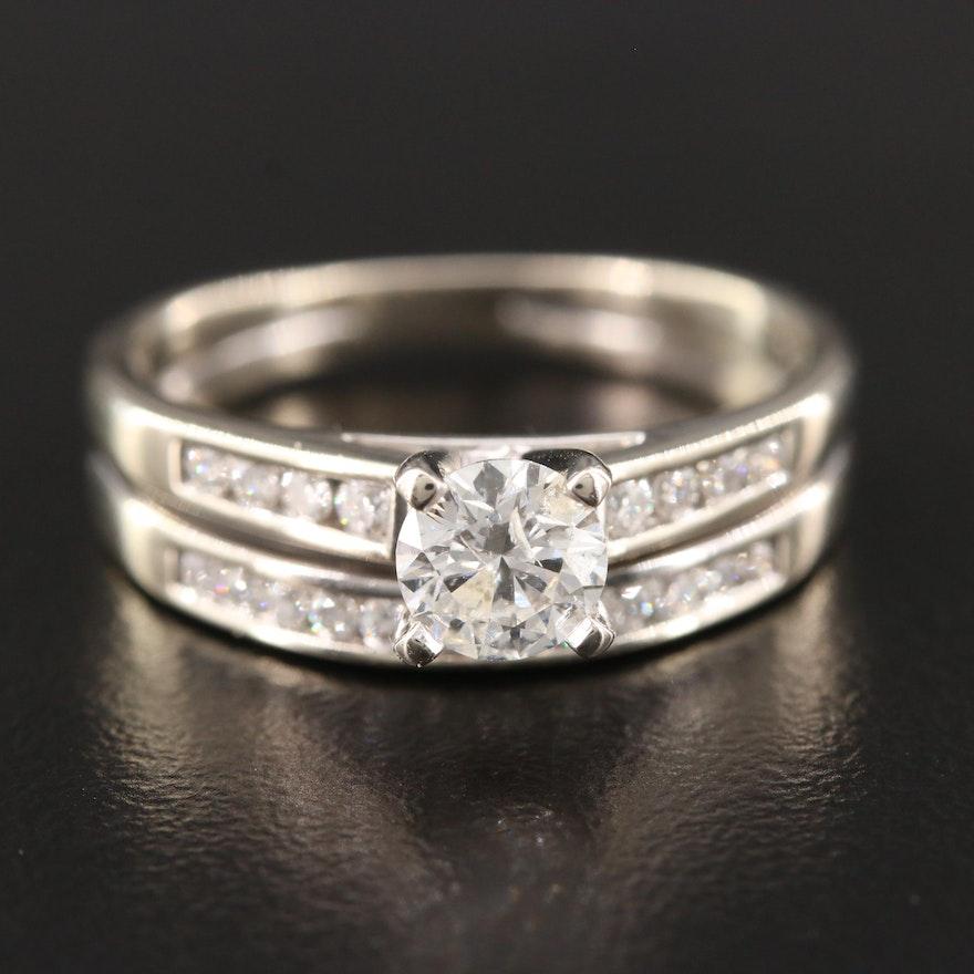 Shane 14K White Gold Diamond Ring