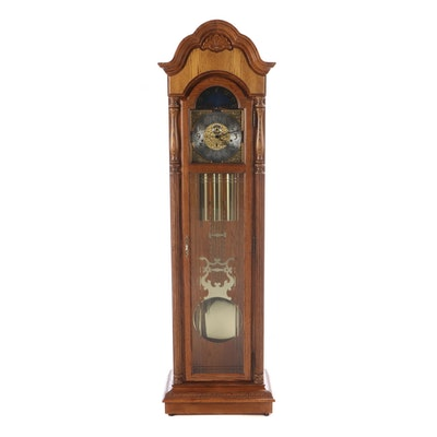 Howard Miller Oak Grandfather Clock