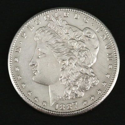 1887-S Silver Morgan Dollar