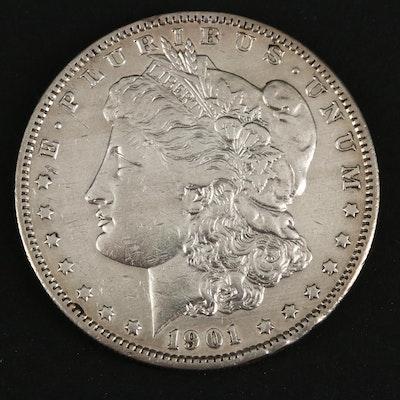 1901-S Silver Morgan Dollar