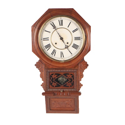 Anglo-American Regulator Clock, Late 19th Century