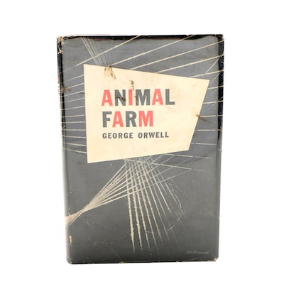 "First American Edition ""Animal Farm"" by George Orwell, 1946"