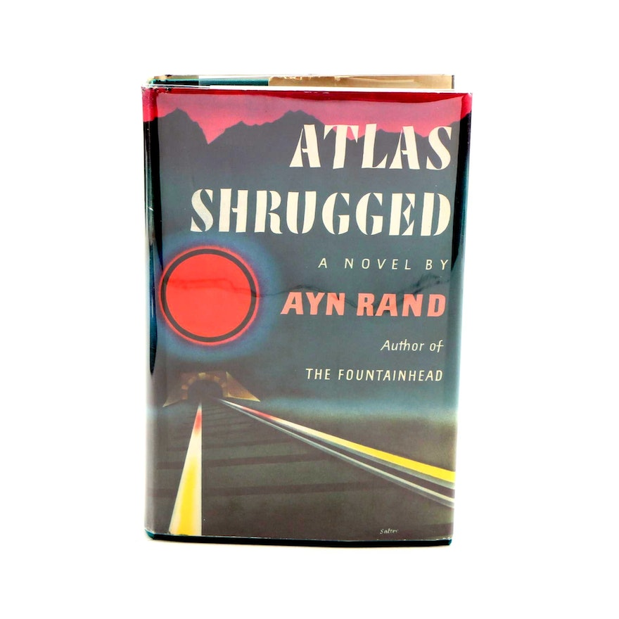"""First Edition, First Printing """"Atlas Shrugged"""" by Ayn Rand"""