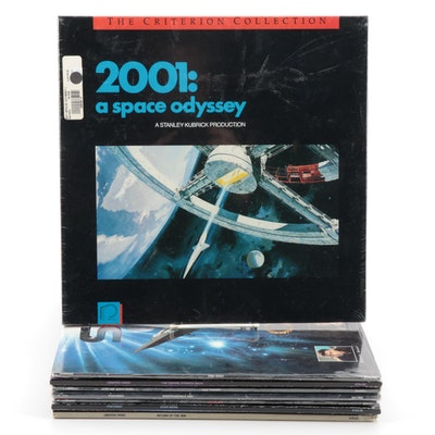 Fantasy Space Themed Movie Laser Discs Including Star Wars, Space Odyssey, More
