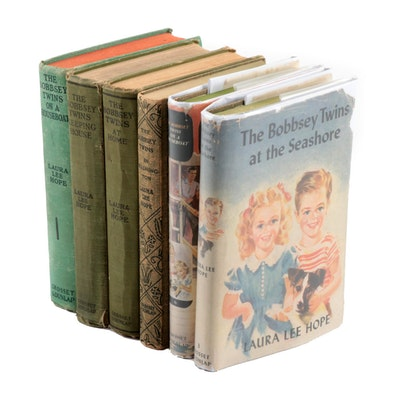 """The Bobbsey Twins"" Book Collection including First Editions"