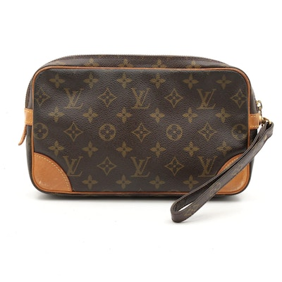 Louis Vuitton Monogram Canvas Marly Dragonne Pochette