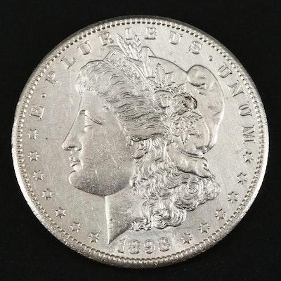 Better Date 1898-S Morgan Silver Dollar
