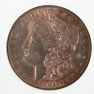 Better Date 1894-S Morgan Silver Dollar