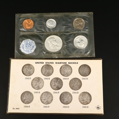 Two Vintage U.S. Silver Coin Sets