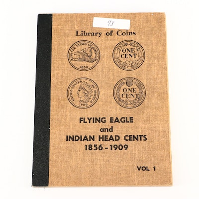 Album of Flying Eagle and Indian Head Cents