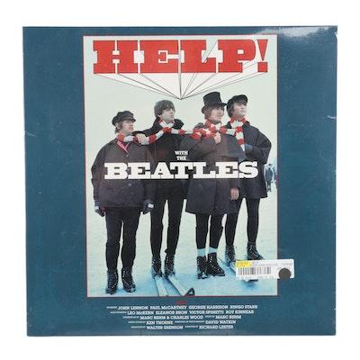 "The Beatles ""Help"" Sealed-Unopen Laser Disc, 1995 MPI Home Video"