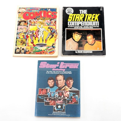 """The Penguin Book of Comics"" and ""Star Trek"" Reference Books"