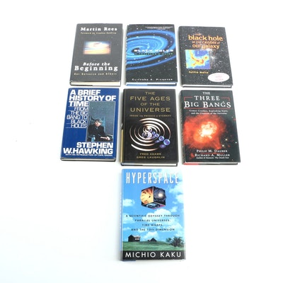 """A Brief History in Time"" by Stephen Hawking and Other Space Reference Books"