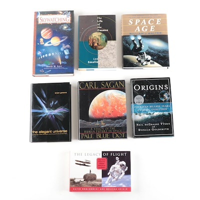 "Space Reference Books Including ""The Life of the Cosmos"" by Lee Smolin"