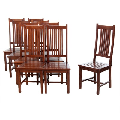 David Smith & Company, Arts and Crafts Style Dining Side Chairs