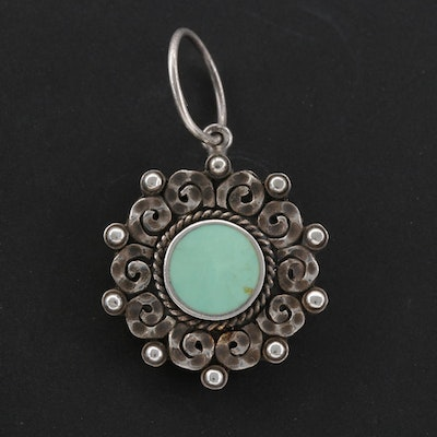 Boma Sterling Silver Turquoise Pendant