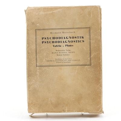 Hermann Rorschach Pyschodiagnostics Ink Blot Cards, circa 1948