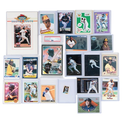 Tony Gwynn San Diego Padres Signed Card PSA, Rookies, and More, 1980s-2000s