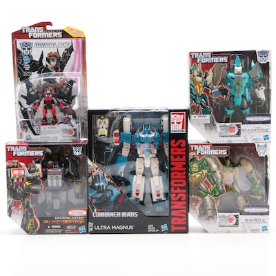 Hasbro Transformers Figures Including Ultra Magnus with Original Packaging, 2014