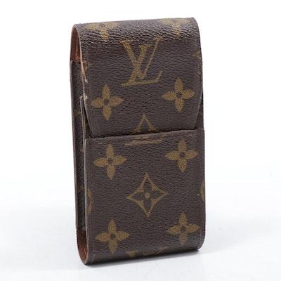 Louis Vuitton Monogram Coated Canvas Cell Phone Case