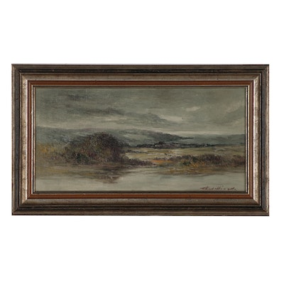 Thomas Jefferson Willison Landscape Oil Painting