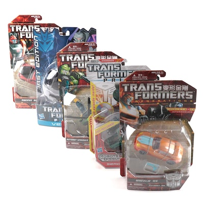 Hasbro Transformers Prime and Generations Figures Original Packaging, 2011