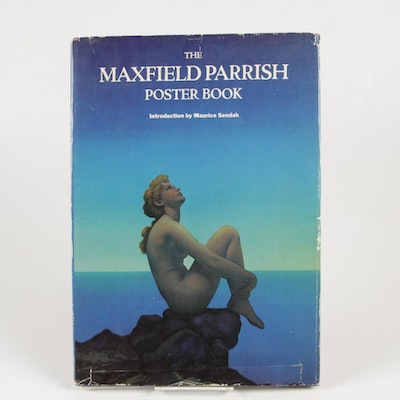 "1974 ""The Maxfield Parrish Poster Book with Introduction by Maruice Sendak"""