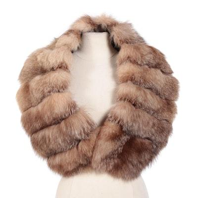 Crystal Fox Fur Wrap