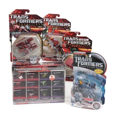 Hasbro Transformers Action Figures With Mini Set in Original Packaging, 2000s