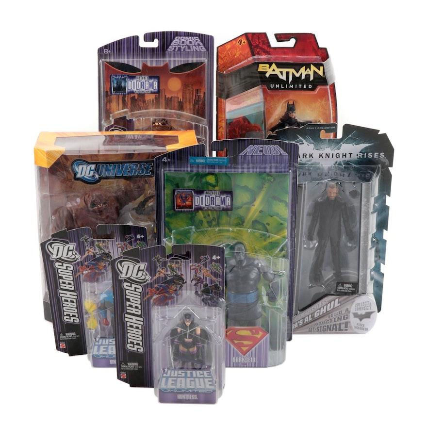 "Mattel DC ""Super Heroes"" Action Figures Including Clayface in Original Packaging"